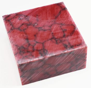 Bloody Basin Red Jasper Tru-stone Block 2.5